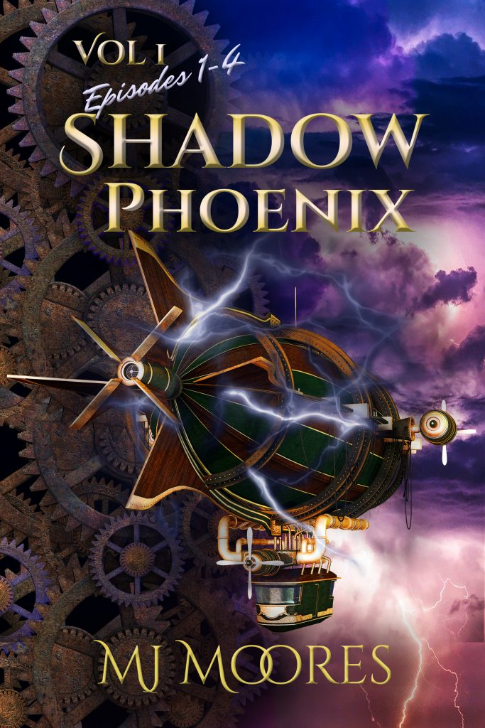 Book Cover: Shadow Phoenix Vol 1, Ep 1-4